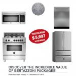 BERTAZZONI 4 PC PACKAGE at Bouche Appliances