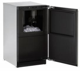 "U-Line18"" CLEAR ICEMAKER WITH PUMP PANEL READY 220 VOLT 50 HZ"